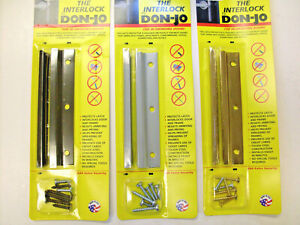 Don-Jo InSwing Latch Protector - Improve security on inswing exterior doors!