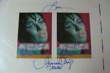 🎈 Star Trek YVONNE CRAIG Batman Batgirl Autograph Auto Rittenhouse RARE 2 card