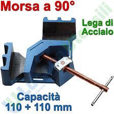 Morsa Regolabile Saldatura Profilati a 90° FERVI Angolo Retto Ganascia 0205/120