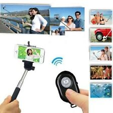 SET SELFIE ASTA TELESCOPICA + TELECOMANDO BLUETOOTH AUTOSCATTO FOTO SELFI IPHONE