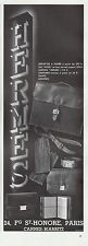PUBLICITE  HERMES SAC A MAIN   HANDBAG MODE FASHION ART DECO    AD  1932  - 6G
