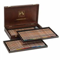 Caran D'Ache Artist Colour Pencils 76 Luminance Wooden Gift Box Tray Set 6901