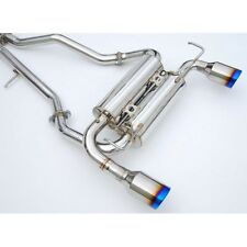 Invidia Gemini Catback Exhaust System Rolled Titanium Tips - Nissan 370Z Z34 UK
