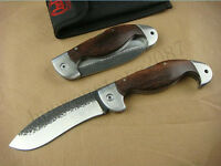 Wood Handle Knife Tactical BODA Saber Camping Hunting Rescue  tool Sharp Tool