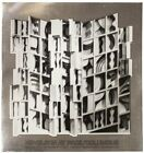"""LOUISE NEVELSON At Pace Columbus (Silver) SIGNED 25.5"""" x 26"""" Foil Print 1977"""