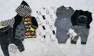 BabyKleidung Paket  Gr.62/68 Junge Bekleidung H&M,Kiabi,Mexx,jacke Handmade
