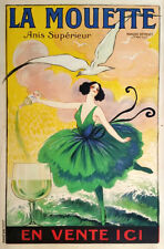 FRENCH WINE, 1920 Vintage Advertising Poster Giclee Canvas Print  20X30