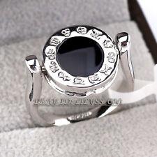 18Kgp Cz Rhinestone Crystal Size 5.5-9 B1-R484 Fashion Double Face Band Ring