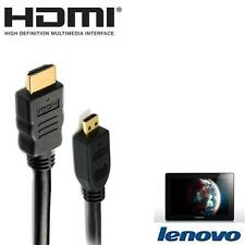 5M Gold Plated HDMI to Micro HDMI For Lenovo IdeaTab S6000, Lynx K3011, Miix