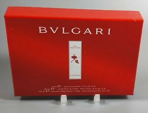 Bulgari Bvlgari Au The Rouge Mini Gift Set Cologne After Shave Balm Body Lotion