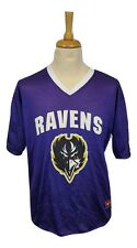 #449 Baltimore Ravens Mens Nike NFL Reversible Team Jersey V-Neck T-Shirt, XL