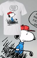 Peanuts Movie Snoopy Charlie Brown Funny Golf 🏌️ Mens Boys Tshirt