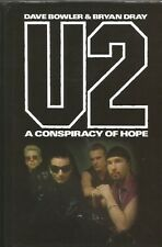 U2 A Conspiracy Of Hope 1993 hardback book
