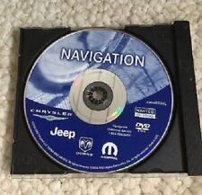 New 2004-2007 Dodge Charger + Magnum Nav Map Update DVD p/n: 05064033AL GPS
