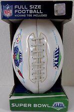 Super Bowl XLIII SB43 FULL SIZE FOOTBALL kicking tee included 11½ x 6½ inch NEW