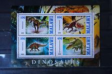 Dinosaurier 64 prehistoric animals Urzeittiere Dinosaurs Fauna sheets ** MNH