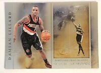 2012-13 PANINI BRILLIANCE MAGIC NUMBERS #10 DAMIAN LILLARD RC ROOKIE