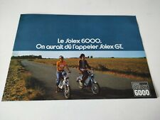Prospectus Catalogue Brochure Vélosolex Flash 6000 de 1970