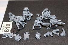 Games Workshop Warhammer 40k Space Marines Commander and Devestators Job Lot