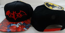 Harley Quinn Batman Roses Holding Gun DC Comics Snap Back Hat