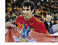 BAYERN MUNICH JAVI MARTINEZ signed auto'd SPAIN 2010 WC 8x10 PHOTO PSA/DNA COA