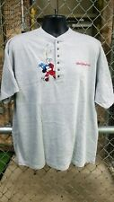 Micky Mouse Walt Disney World Embroidered Shirt Size XL