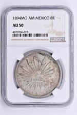 1894MO AM Mexico 8 Reales NGC AU 50 Witter Coin