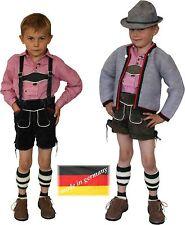 kurze Lederhose + Stegträger Trachtenlederhose Hose Oktoberfest  MADE IN GERMNY