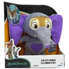 Disney - Zootropolis - 2 in 1 Ele-Finnick - Talking - Soft Plush - Brand New