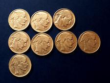 Lot de 8 pièces belges argent - 50 Fr - années 1948 à 1951 - bon état - photos