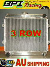 3 Rows Aluminum Radiator for TOYOTA HILUX RN85 RN90 22R 2.0L Petrol Manual 88-97
