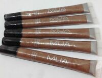 MUA Professional Super Shine Sparkle Lip Gloss 124 Bronze (Lot of 5) NEW!!