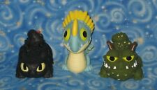 3 DreamWorks How to Train Your Dragon Water Squirt Toys with Toothless New USA
