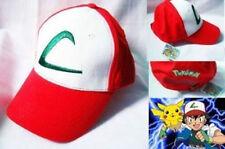 Adorable Anime Pokemon ASH KETCHUM Trainer Costume Cosplay Hat Cap