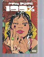 100% Percent by Paul Pope TPB DC Vertigo Comics 1st Print 2005 OOP