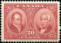 1927 Mint H Canada VF Scott #148 20c Historical Issue Stamp