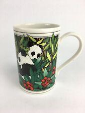 Vintage 'Burma' Panda Dunoon Stoneware Mug Designed by Ruth Boden