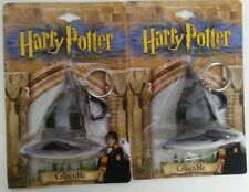LOT OF 2 Harry Potter & the Sorcerer's Stone Collectible Witch Hat Key Chain 2""