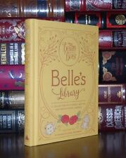 Beauty and the Beast Belle's Library Illustrated New Deluxe Hardcover 2 Day Ship