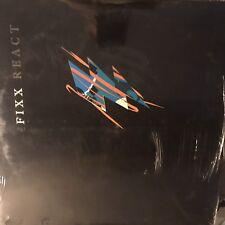 THE FIXX • React • Vinile LP • Nuovo Parzialmente Sigillato