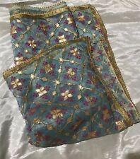 Indian Embroiderd Organza Stole Dupatta