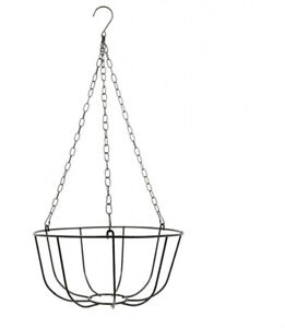 2 Garden Collection Hanging Wire Baskets