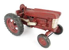 Traktor Modell Traktorenmodell Trecker rot HUBLEY Gusseisen Metall