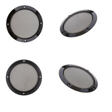 5inch Speaker Cover Metal Mesh Grille Protection Decorative Circle x 4Pack