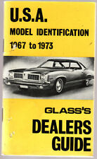 GLASS'S  DEALERS GUIDE : U.S.A.  MODEL IDENTIFICATION 1967-73 United States  fg