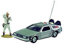 CORGI: BACK TO THE FUTURE: DELOREAN TIME MACHINE w/DOC BROWN FIGURINE #CC05501