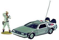 CORGI: BACK TO THE FUTURE: DELOREAN TIME MACHINE w/DOC BROWN FIGURINE #CC05501