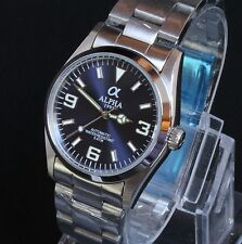 Alpha 369 Automatic Miyota Movement Blue Dial brand new Limited Edition