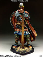 Viking 793 year AD, Tin toy soldier 54 mm, figurine,metal sculpture HAND PAINTED