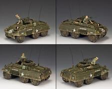 KING & COUNTRY D DAY DD225 U.S. M20 ARMORED CAR SET MIB